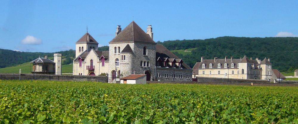 Le Château de la Tour et le Château du Clos Vougeot